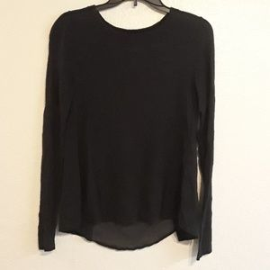 A.N.A long sleeve black shirt